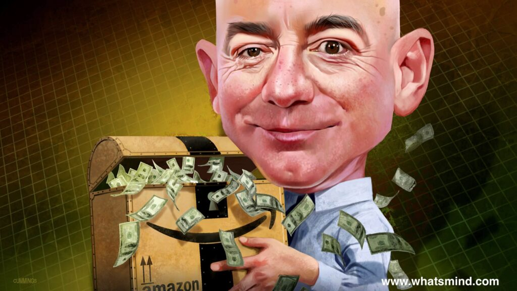 How much money does Jeff Bezos has?
