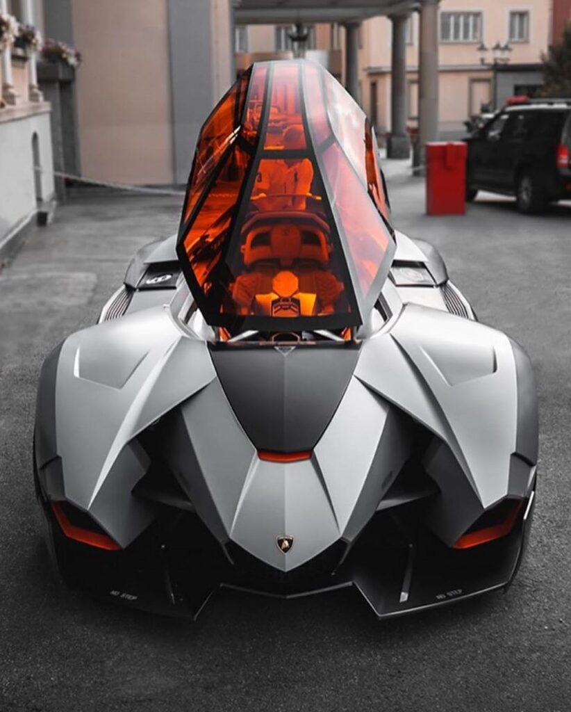 Lamborghini Egoista: The Concept of a Fighter jet