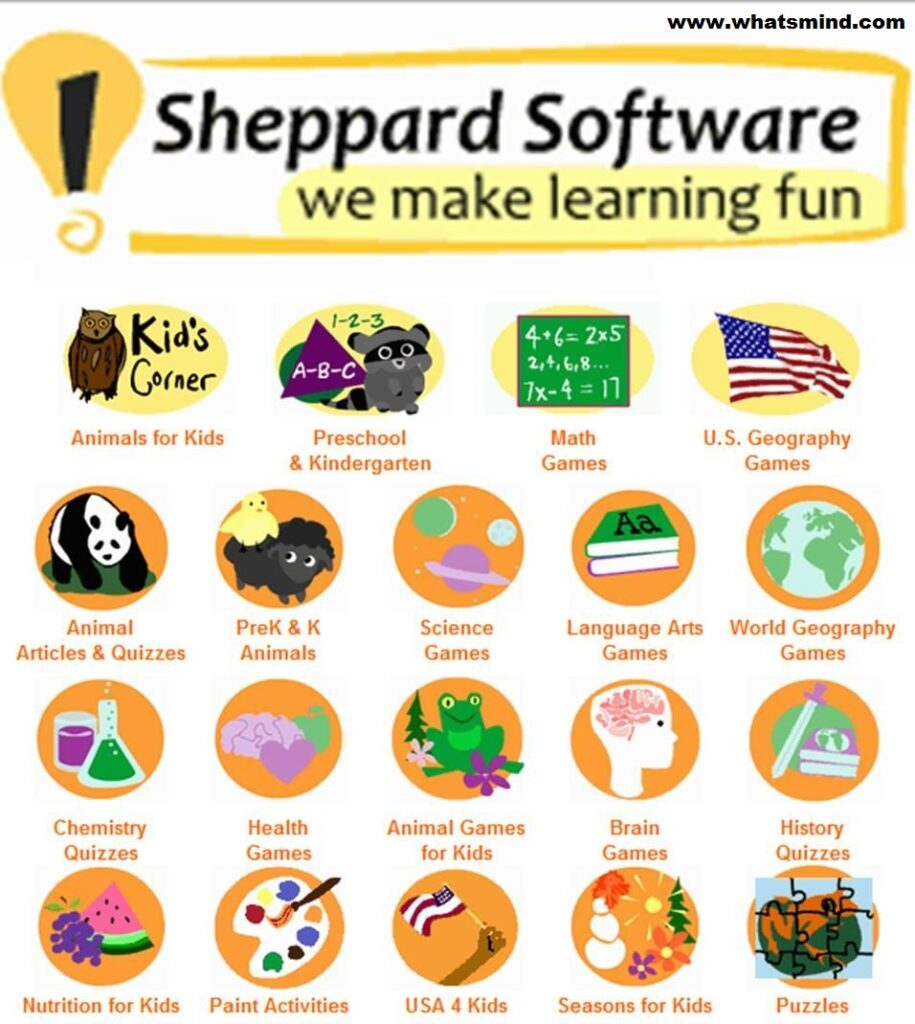 Sheppard software: Make learning fun-loving.