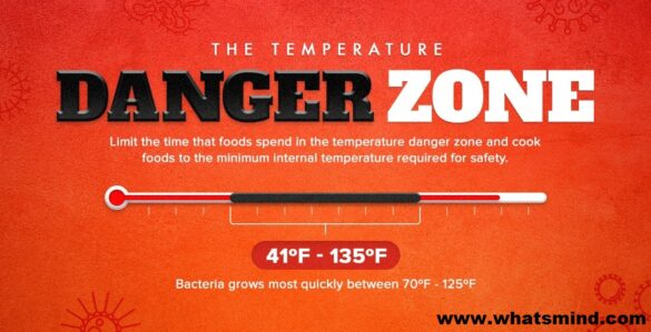 which food was received in the temperature danger zone?